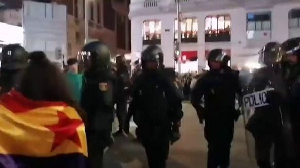 Cruce de acusaciones entre Podemos y Vox sobre los disturbios por las restricciones
