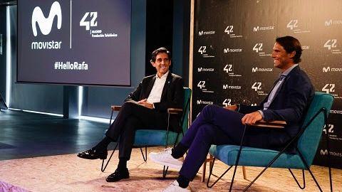 Rafa Nadal seguirá siendo el embajador de Telefónica cinco años más