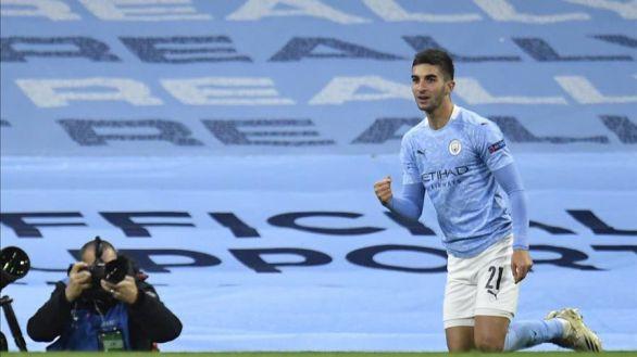 La metamorfosis de Ferran pone al City camino de octavos |3-0