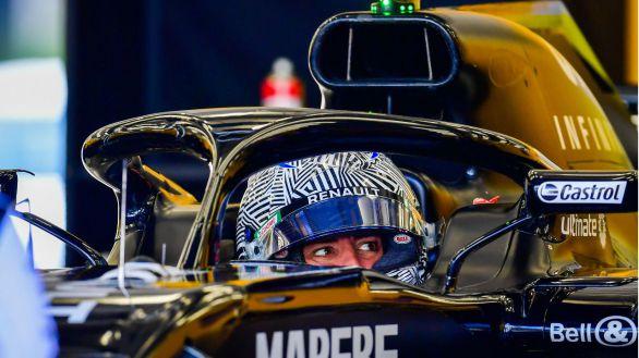 Alonso vuelve a los mandos del Renault durante 93 vueltas