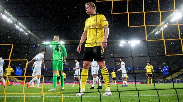 Haaland eleva al Dortmund al liderato de su grupo |0-3