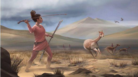 Fin a un mito de la prehistoria: las mujeres también cazaban grandes presas