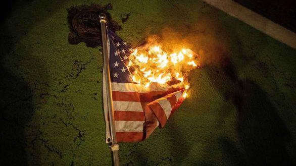 Las protestas se extienden por decenas de ciudades de Estados Unidos