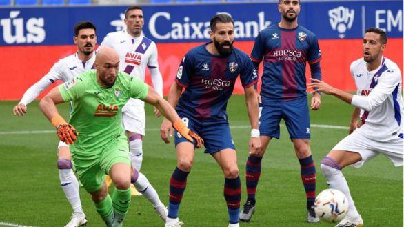 Un Huesca falto de puntería ante el Eibar sigue sin conocer victoria |1-1