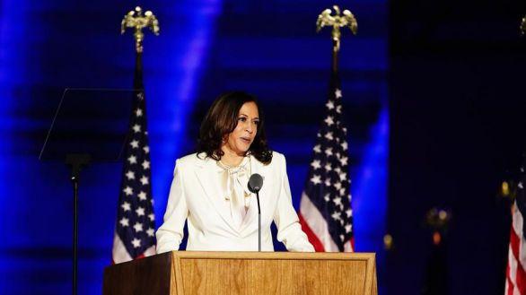 Kamala Harris, primera mujer vicepresidente de EEUU