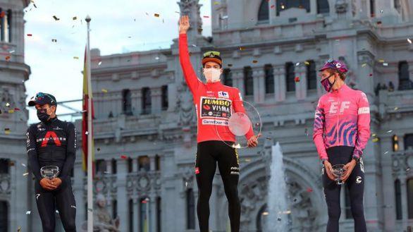 Roglic consuela su 2020 confirmando el doblete en la Vuelta a España