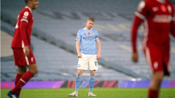 Premier. El Liverpool sobrevive a una exhibición de De Bruyne |1-1