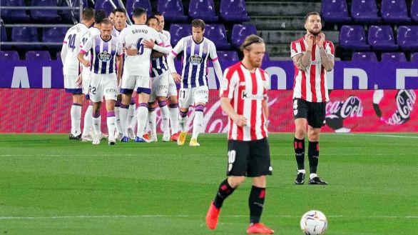 El Valladolid logra su primer triunfo ante un Athletic inoperante |2-1