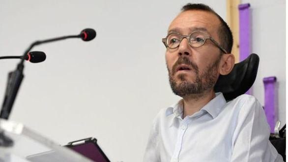 Echenique tacha de 'basura falsa' que le vinculen con los pagos de Podemos a Neurona