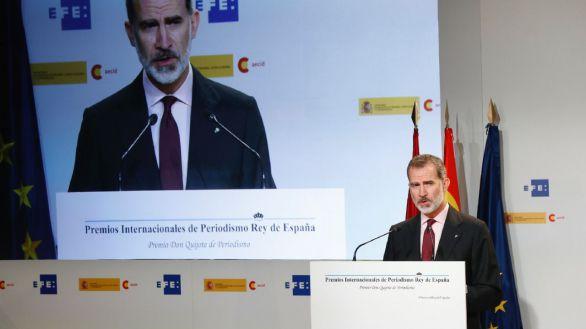 Felipe VI: 'El periodismo en estos tiempos es especialmente necesario'
