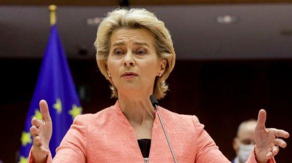 La presidenta de la CE, Ursula Gertrud von der Leyen.