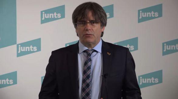 Puigdemont renuncia a ser candidato de JxCat en las elecciones catalanas