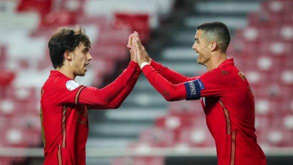 Cristiano y Joao Felix cierran el festín de Portugal |7-0