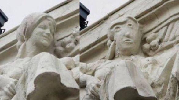 Indignación por el 'ecce homo' de Palencia: nuevo atentado al patrimonio