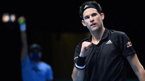 Finales ATP. Thiem inaugura con triunfo ante Tsitsipas el grupo de Nadal
