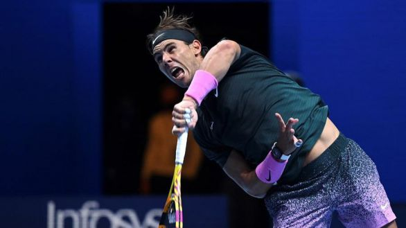 Nadal arranca con triunfo su asalto a las Finales ATP