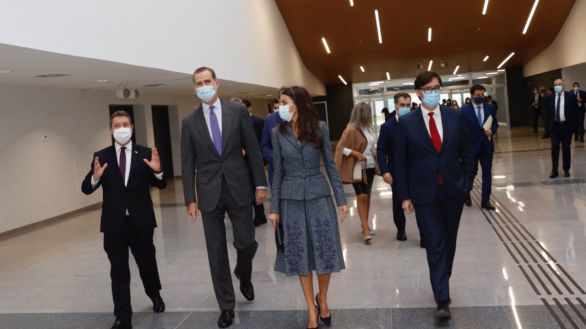 Los Reyes visitan el nuevo Hospital Universitario de Toledo