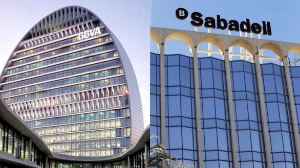BBVA y Sabadell negocian una posible fusión