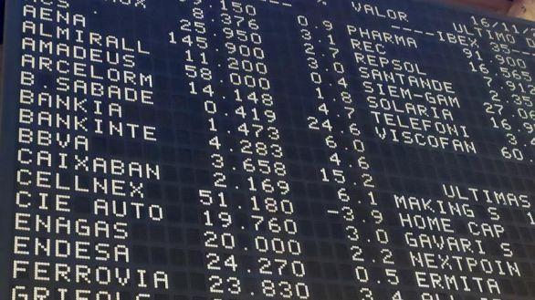 El Ibex roza los 8.000 puntos impulsado por el anuncio de Moderna