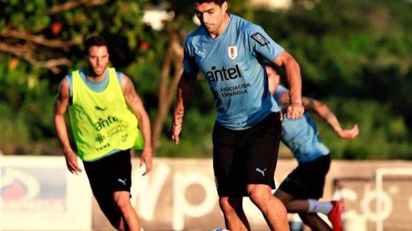 Luis Suárez, baja ante Brasil y el Barça tras dar positivo en coronavirus