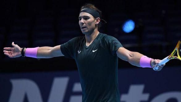 Finales ATP. Nadal es incapaz de frenar a un Thiem arrollador en el desempate