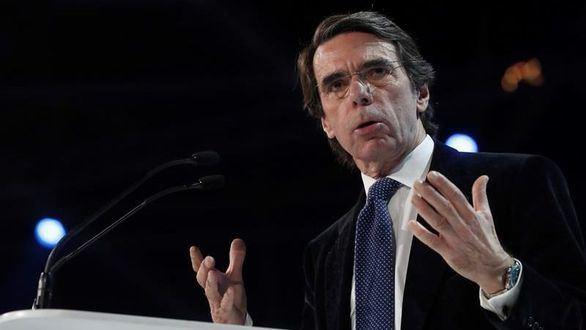 Aznar firma la Declaración de Madrid