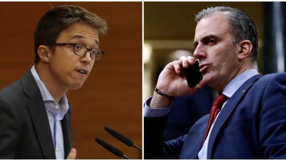 'Milhouse', 'Torrente'... Ortega-Smith y Errejón se 'enganchan' en Twitter
