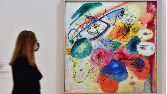 La abstracción espiritual del 'nómada' Kandinsky en el Guggenheim de Bilbao