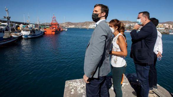 Casado, en Arguineguín: