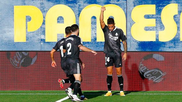 Un Real Madrid en cuadro sobrevive a los achuchones del Villarreal |1-1