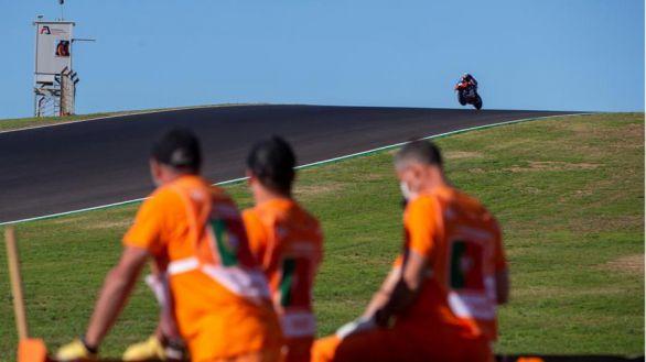 Moto GP. Oliveira hace de profeta en su tierra