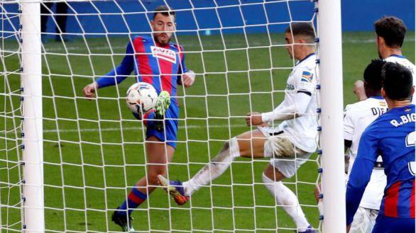 Los palos anulan al EIbar ante el Getafe |0-0