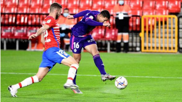 El Valladolid sale del descenso a costa de un Granada muy blando |1-3