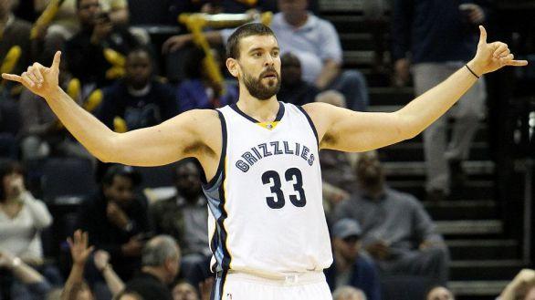 Marc Gasol, jugador de los Grizzlies.