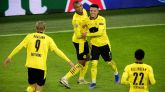 Haaland y Sancho ponen al Dortmund casi en octavos |3-0