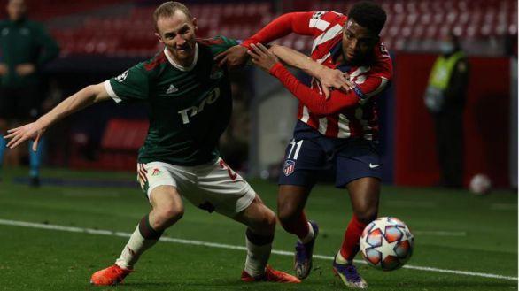 Inquietante empate del Atlético en Moscú |0-0
