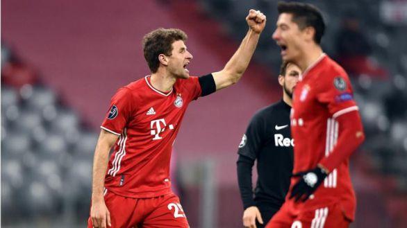 El Bayern sella su pase a octavos y el primer lugar del grupo |3-1