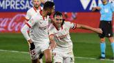 El Sevilla apura en Huesca su asalto a la parte noble de LaLiga |0-1