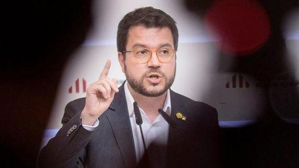 El vicepresidente de la Generalidad, Pere Aragonés (ERC)