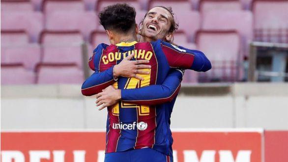 El Barcelona recupera la sonrisa con un holgado triunfo ante Osasuna |4-0