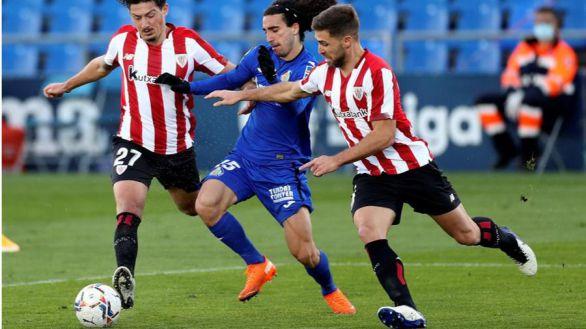 El Getafe frena la revolución del Athletic  1-1