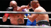 El regreso de Mike Tyson, a sus 54 años, acaba en combate nulo