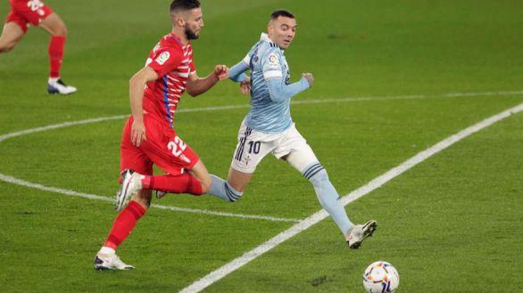 Aspas lidera la remontada del Celta ante el Granada |3-1
