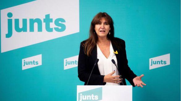Borràs arrasa en las primarias de Junts per Catalunya