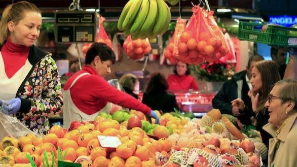 Los precios mantienen una caída del 0,8 % en noviembre
