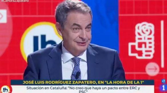 Zapatero pide a Felipe González 'apoyo y lealtad' al Gobierno de Sánchez