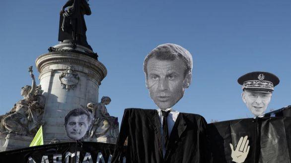 Macron suspende la Ley de seguridad tras los altercados