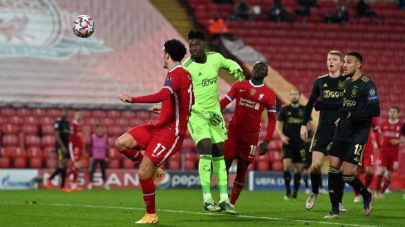 Onana regala el partido y el primer puesto al Liverpool  1-0