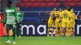 El Barcelona recupera autoestima en Hungría  0-3
