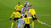 Burki salva al Dortmund y sella el pase a octavos  1-1
